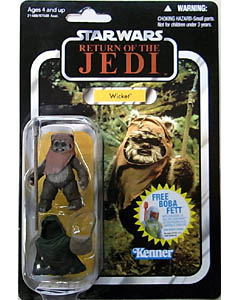 HASBRO STAR WARS 2010 THE VINTAGE COLLECTION WICKET [RETURN OF THE JEDI]