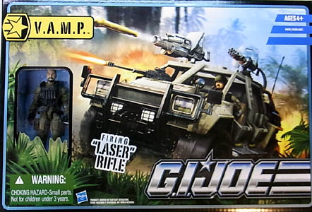 HASBRO G.I.JOE THE PURSUIT OF COBRA ビークル V.A.M.P. WITH DOUBLE CLUTCH