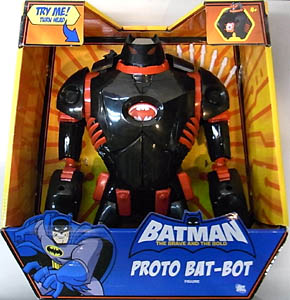 MATTEL BATMAN THE BRAVE AND THE BOLD PROTO BAT-BOT