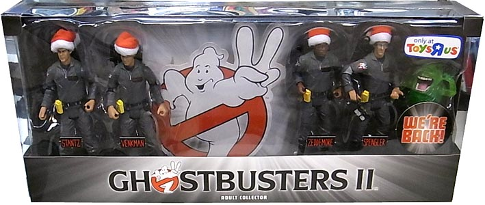 MATTEL GHOSTBUSTERS 2 USA TOYSRUS限定 4PACK