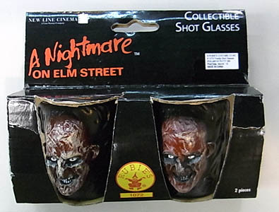 RUBIE'S NIGHTMARE ON ELM STREET FREDDY SHOT GLASS #2