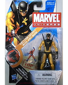 HASBRO MARVEL UNIVERSE SERIES 2 #032 YELLOWJACKET WITH ANT MAN