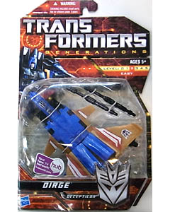 HASBRO TRANSFORMERS GENERATIONS DELUXE CLASS DIRGE