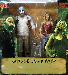 NECA THE DEVIL'S REJECTS EXCLUSIVE SPAULDING & BABY 2PACK