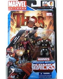 HASBRO MARVEL UNIVERSE COMIC PACKS THOR THOR & IRON MAN