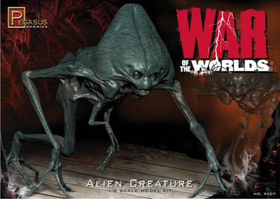PEGASUS HOBBIES 1/8スケール THE WAR OF THE WORLDS [2005] ALIEN CREATURE 組み立て式プラモデル
