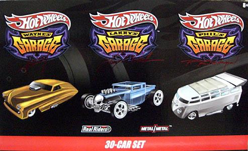 HOT WHEELS 2010年 GARAGEシリーズ 30台セット