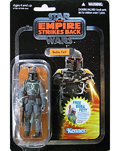 HASBRO STAR WARS 2010 THE VINTAGE COLLECTION CHASE BOBA FETT (SILVER FOIL) [THE EMPIRE STRIKES BACK]