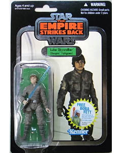 HASBRO STAR WARS 2010 THE VINTAGE COLLECTION CHASE LUKE SKYWALKER (BESPIN FATIGUES) (SILVER FOIL) [THE EMPIRE STRIKES BACK]