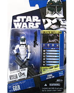 HASBRO STAR WARS THE CLONE WARS BASIC FIGURE CLONE PILOT GOJI