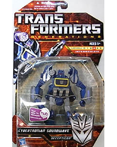 HASBRO TRANSFORMERS GENERATIONS DELUXE CLASS CYBERTRONIAN SOUNDWAVE