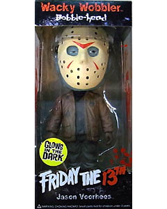 FUNKO WACKY WOBBLER FRIDAY THE 13TH JASON VOORHEES [GLOWS IN THE DARK]