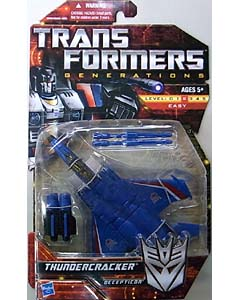HASBRO TRANSFORMERS GENERATIONS DELUXE CLASS THUNDERCRACKER