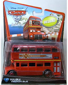 MATTEL CARS2 DELUXE DOUBLE DECKER BUS ブリスター傷み特価