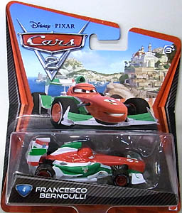 MATTEL CARS2 シングル FRANCESCO BERNOULLI