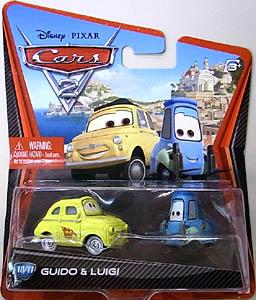MATTEL CARS2 シングル GUIDO & LUIGI