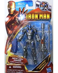 HASBRO IRON MAN THE ARMORED AVENGER 3.75インチ CONCEPT SERIES WAR MACHINE ARTILLERY ARMOR