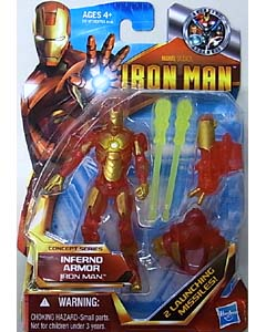 HASBRO IRON MAN THE ARMORED AVENGER 3.75インチ CONCEPT SERIES IRON MAN INFERNO ARMOR