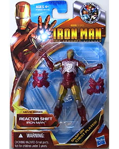 HASBRO IRON MAN THE ARMORED AVENGER 3.75インチ MOVIE SERIES IRON MAN REACTOR SHIFT