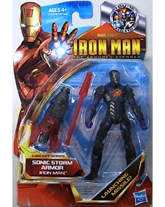 HASBRO IRON MAN THE ARMORED AVENGER 3.75インチ CONCEPT SERIES IRON MAN SONIC STORM ARMOR