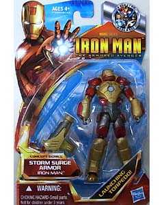 HASBRO IRON MAN THE ARMORED AVENGER 3.75インチ CONCEPT SERIES IRON MAN STORM SURGE ARMOR