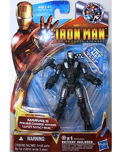 HASBRO IRON MAN THE ARMORED AVENGER 3.75インチ MOVIE SERIES WAR MACHINE MARVEL'S POWER CHARGE ARMOR