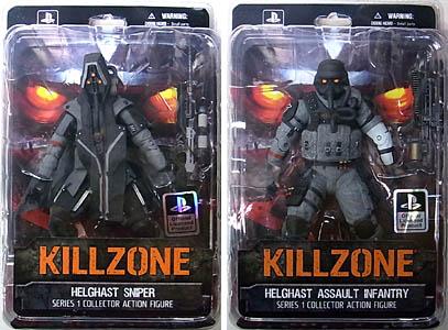 DC UNLIMITED KILLZONE 6インチアクションフィギュア SERIES 1 2種セット