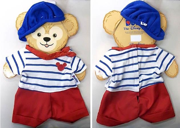 DISNEY USAディズニーテーマパーク限定 DUFFY THE DISNEY BEAR COSTUME [DUFFY THE DISNEY BEAR FRANCE COSTUME]