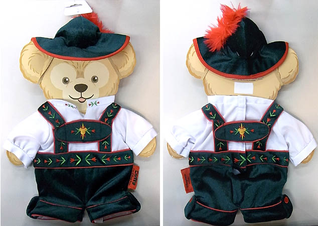 DISNEY USAディズニーテーマパーク限定 DUFFY THE DISNEY BEAR COSTUME [DUFFY THE DISNEY BEAR GERMANY COSTUME]