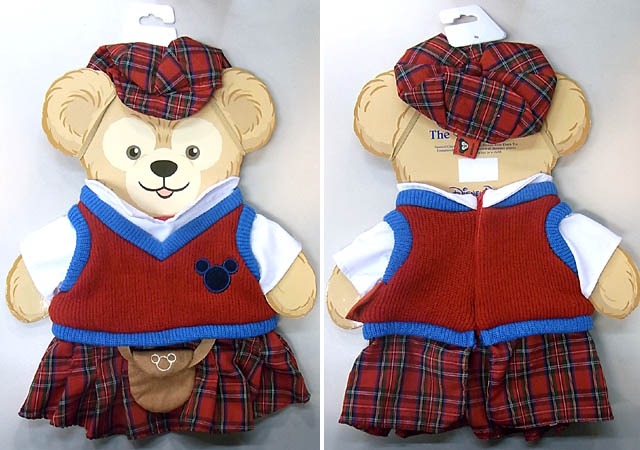 DISNEY USAディズニーテーマパーク限定 DUFFY THE DISNEY BEAR COSTUME [DUFFY THE DISNEY BEAR UNITED KINGDOM COSTUME]