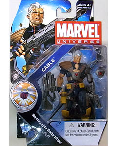 HASBRO MARVEL UNIVERSE SERIES 3 #007 CABLE WITH BABY HOPE