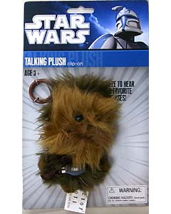 UNDERGROUND TOYS STAR WARS TALKING PLUSH CLIP-ON CHEWBACCA