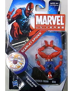 HASBRO MARVEL UNIVERSE SERIES 3 #014 SCARLET SPIDER [逆さポーズ]