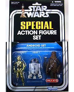 HASBRO STAR WARS USA TARGET限定 SPECIAL ACTION FIGURE SET ANDROID SET