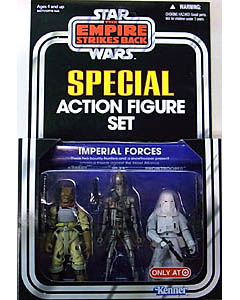 HASBRO STAR WARS USA TARGET限定 SPECIAL ACTION FIGURE SET IMPERIAL FORCES [THE EMPIRE STRIKES BACK]