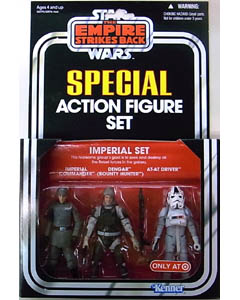 HASBRO STAR WARS USA TARGET限定 SPECIAL ACTION FIGURE SET IMPERIAL SET [THE EMPIRE STRIKES BACK] 台紙破れ特価