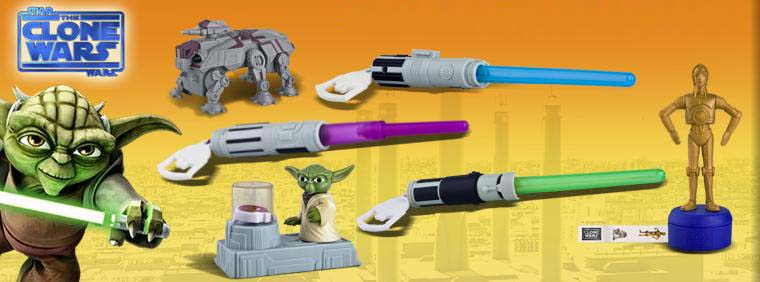 USA McDONALD HAPPY MEAL STAR WARS THE CLONE WARS 全6種セット