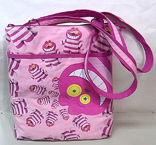 DISNEY POOK-A-LOOZ CHESHIRE CAT BAG