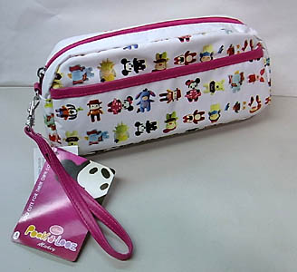 DISNEY POOK-A-LOOZ WRISTLET PURSE [WHITE]