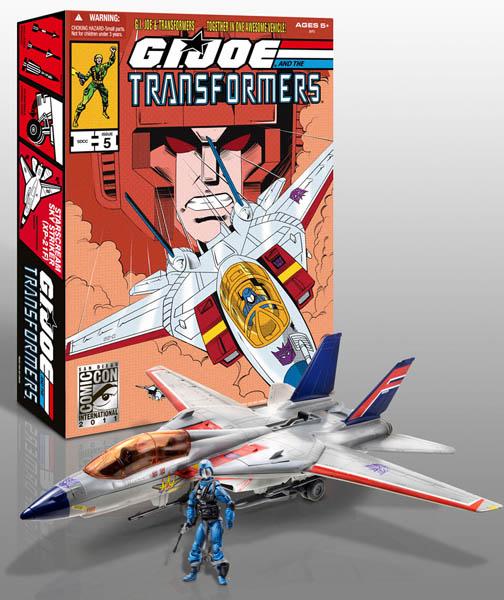 2011年サンディエゴ コミコン限定 HASBRO G.I.JOE AND THE TRANSFORMERS STARSCREAM SKY STRIKER