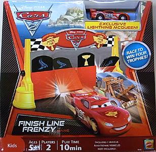 MATTEL CARS2 FINISH LINE FRENZY