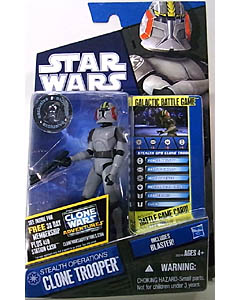 HASBRO STAR WARS THE CLONE WARS USA TOYSRUS限定 BASIC FIGURE STEALTH OPERATIONS CLONE TROOPER