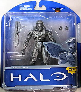 McFARLANE HALO: ANNIVERSARY SERIES 1 -ADVANCE PLATINUM MASTER CHIEF