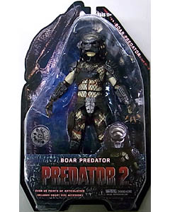 NECA PREDATORS 7インチアクションフィギュア シリーズ4 PREDATOR 2 BOAR PREDATOR
