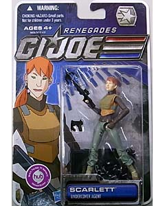 HASBRO G.I.JOE RENEGADES シングル SCARLETT [UNDERCOVER AGENT]