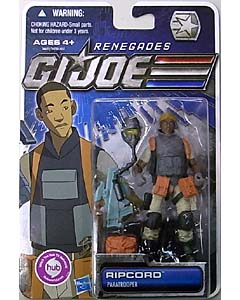 HASBRO G.I.JOE RENEGADES シングル RIPCORD [PARATROOPER]