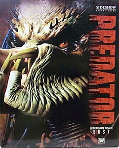 SIDESHOW LEGENDARY SCALE BUST PREDATOR