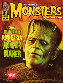 FAMOUS MONSTERS OF FILMLAND #257 [2011年コミコン限定カバー]