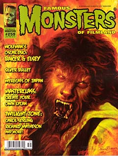 FAMOUS MONSTERS OF FILMLAND #259 [Rick Bakerカバー]