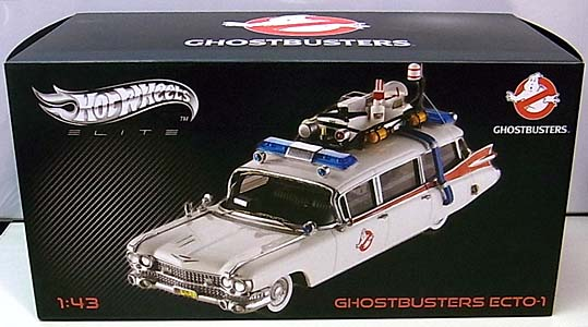 MATTEL HOT WHEELS 1/43スケール GHOSTBUSTERS ECTO-1 [ELITE]